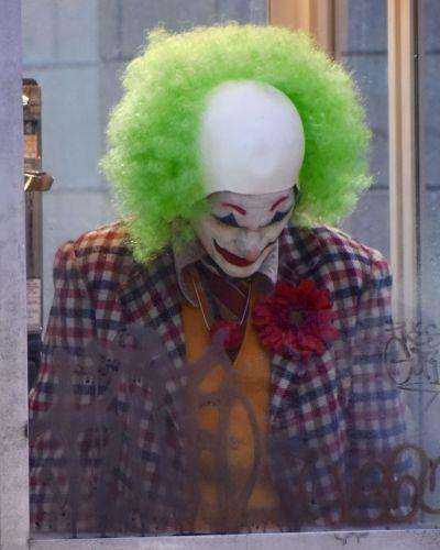 'Joker' on set filming, New York, USA - 24 Sep 2018