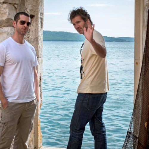 D.B. Weiss and David Benioff Season 5 Episode 8 Behind the Scenes