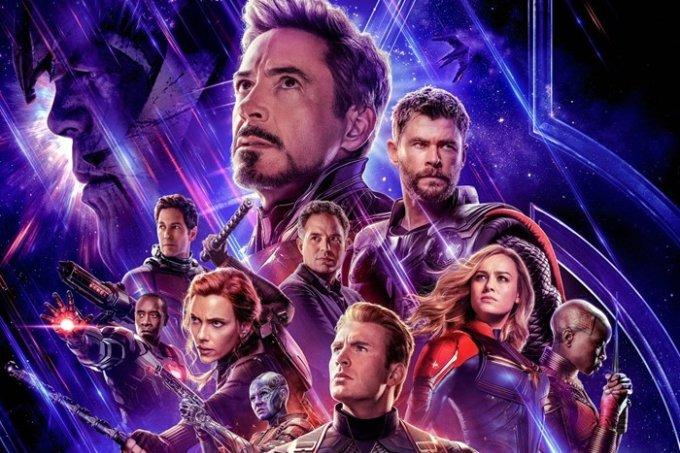 Vingadores: Ultimato é uma das maiores bilheterias da história do cinema.