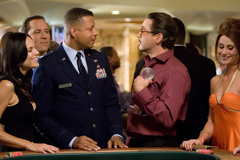 James Rhodes - Terrence Howard não retornou para Homem de Ferro 2 por divergências com a Marvel.