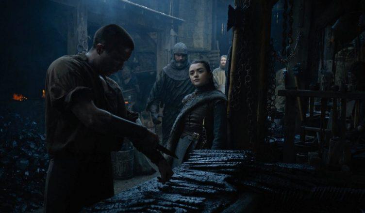 Game Of Thrones Maisie Williams Fala Sobre Cena Entre Arya Stark E Gendry