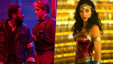 """A Warner Bros. decidiu odiar outra vez as datas de lançamento de """"Tenet"""", de Christopher Nolan, e """"Mulher Maravilha 1984"""", de Patty Jenkins."""