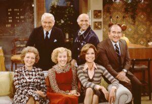 The Mary Tyler Moore Show é uma das séries mais indicadas ao Emmy.