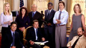 The West Wing, criada por Aaron Sorkin, é uma das séries com o maior número de indicações ao Emmy Awards.