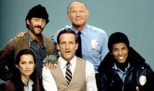 A série Hill Street Blues é uma das maiores indicadas ao Emmy Awards.