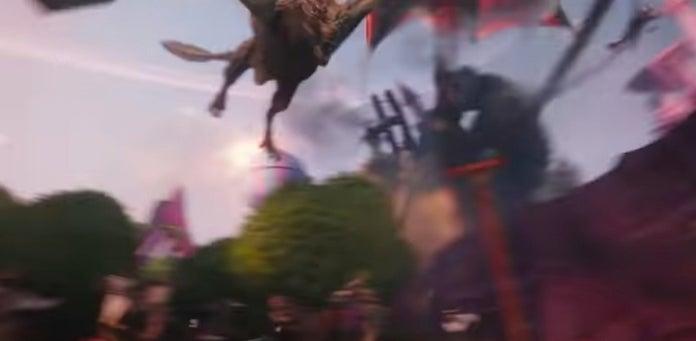 O sucesso Game of Thrones é um dos easter eggs presentes no trailer.