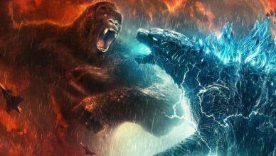 Godzilla vs. Kong supera as expectativas e lidera o ranking de bilheteria nos EUA nesse fim de semana.