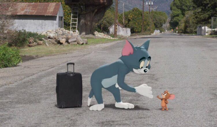 Tom e Jerry: O Filme é o líder de Bilheteria no Brasil no fim de semana (15-18 de abril).