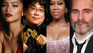 Zendaya, Bong Joon-Ho, Regina King e Joaquin Phoenix serão alguns dos apresentadores do Oscar 2021.